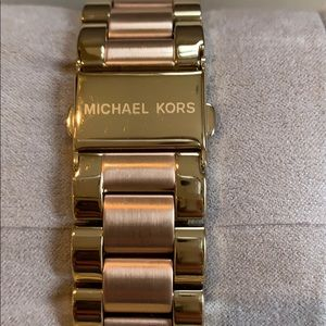 Michael Kors Accessories - Michael Kors Gold and Rose Gold Two-tone watch